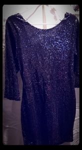 Dresses - Size M swoop back sequin dress